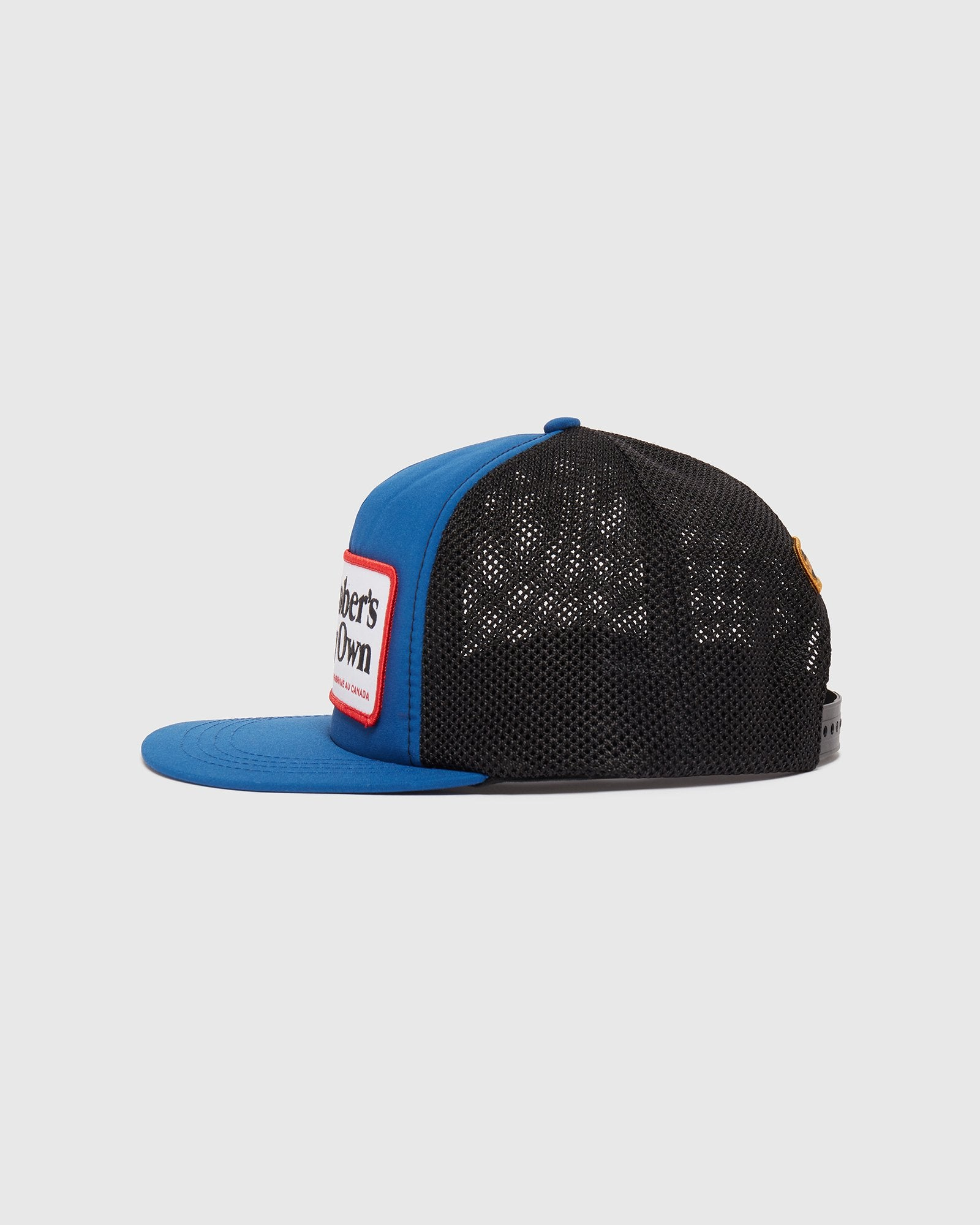 OVO X CANADA GOOSE TRUCKER HAT - ROYAL BLUE IMAGE #2