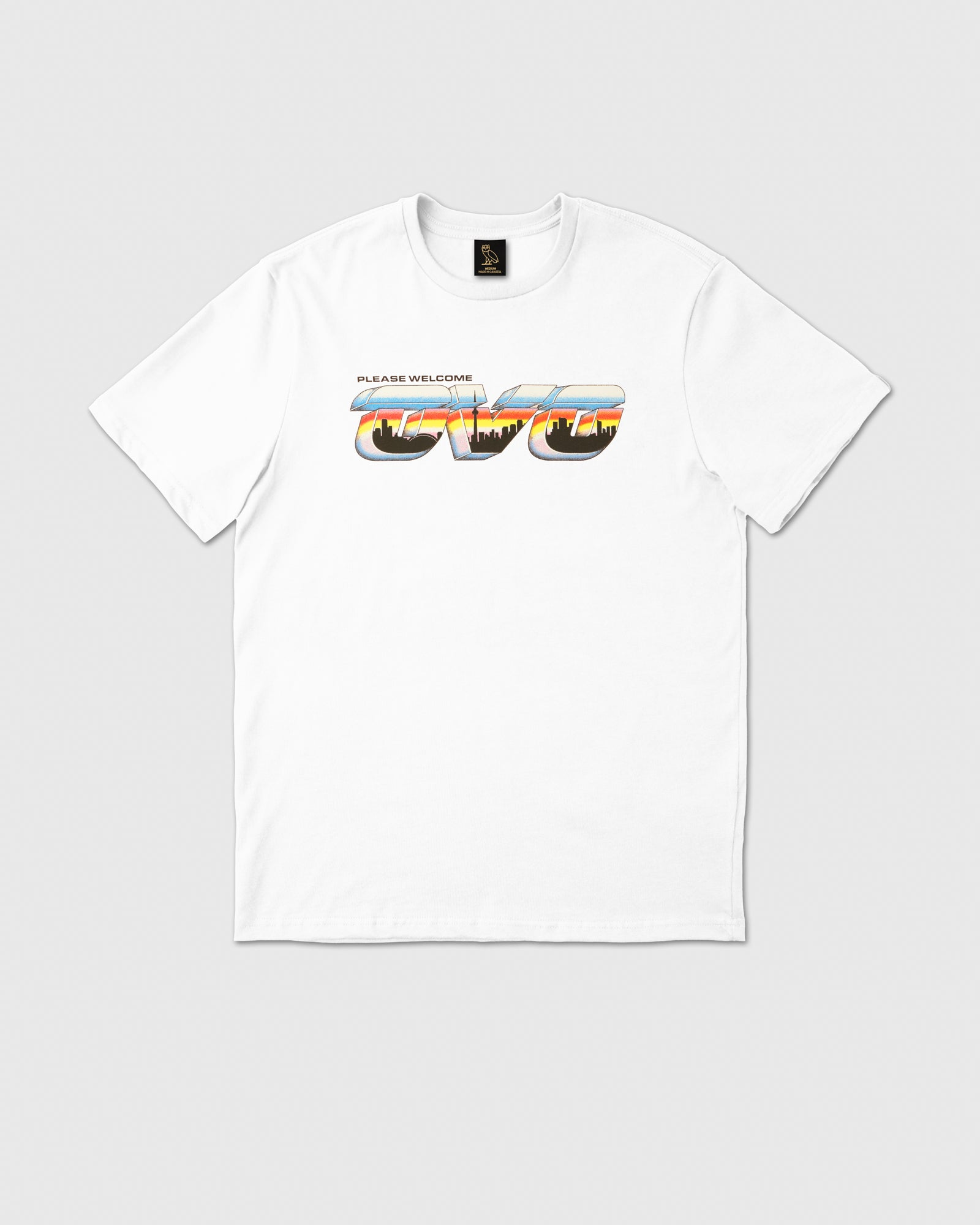 POSTCARD T-SHIRT - WHITE IMAGE #1