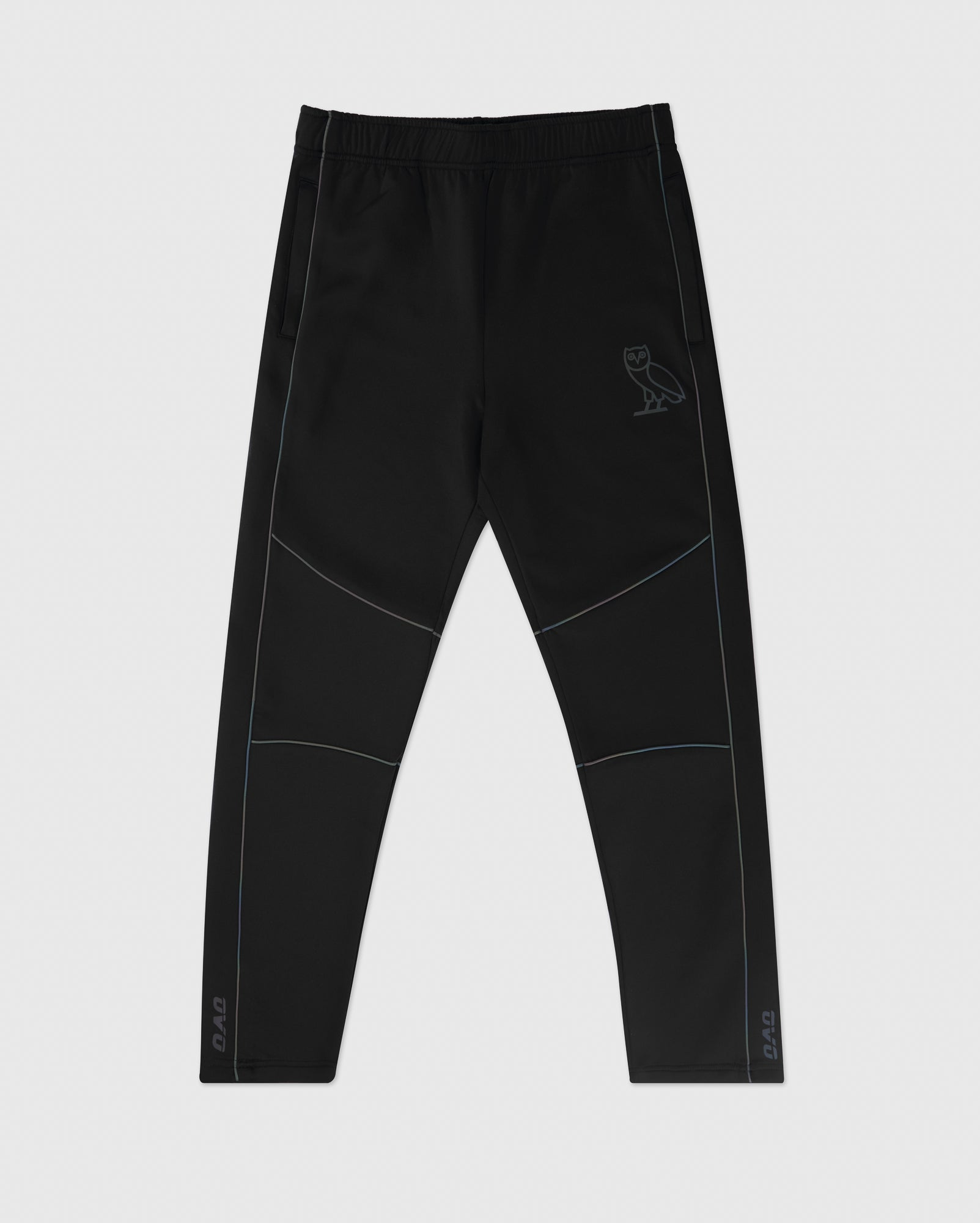 REFLECTIVE PIPING PANT - BLACK IMAGE #1
