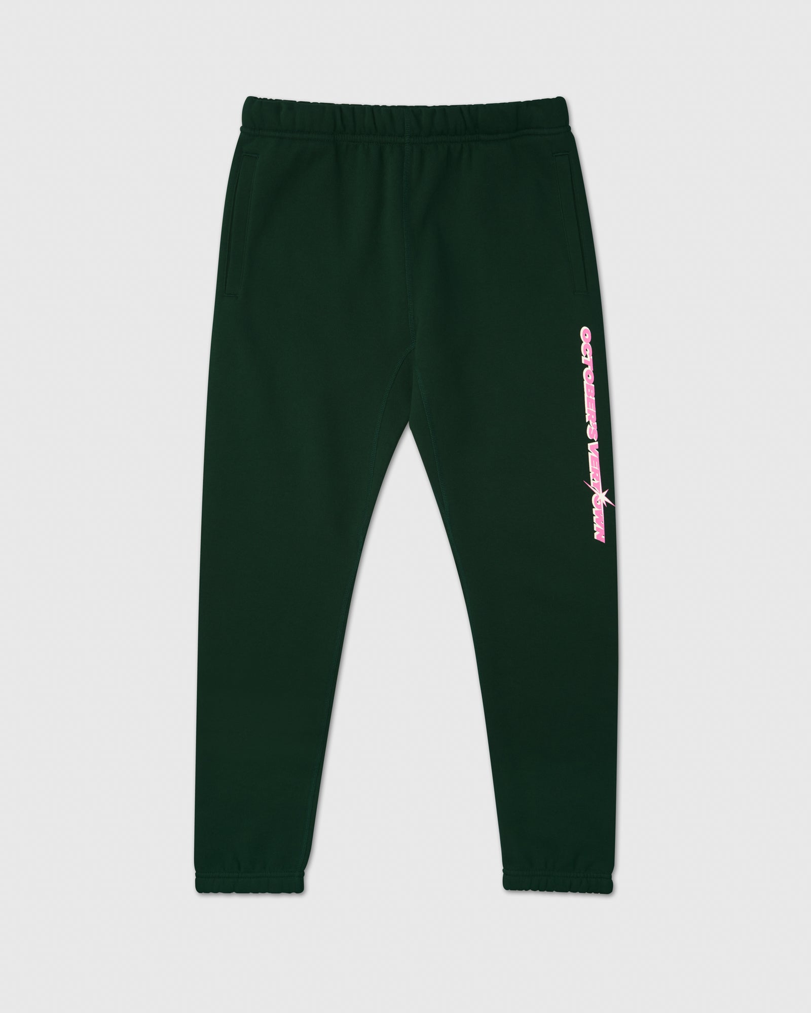 SHINING WORDMARK SWEATPANT - PINE IMAGE #1