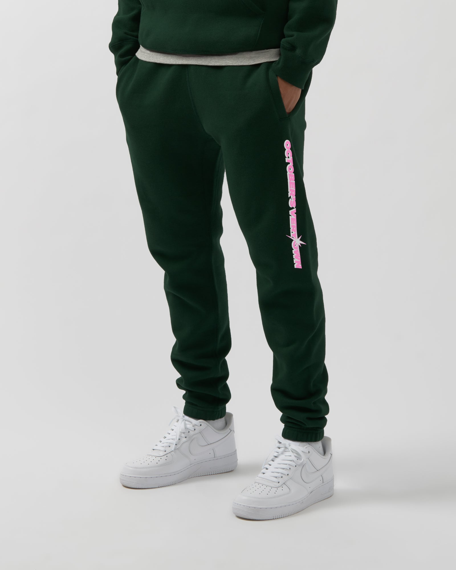 SHINING WORDMARK SWEATPANT - PINE IMAGE #3