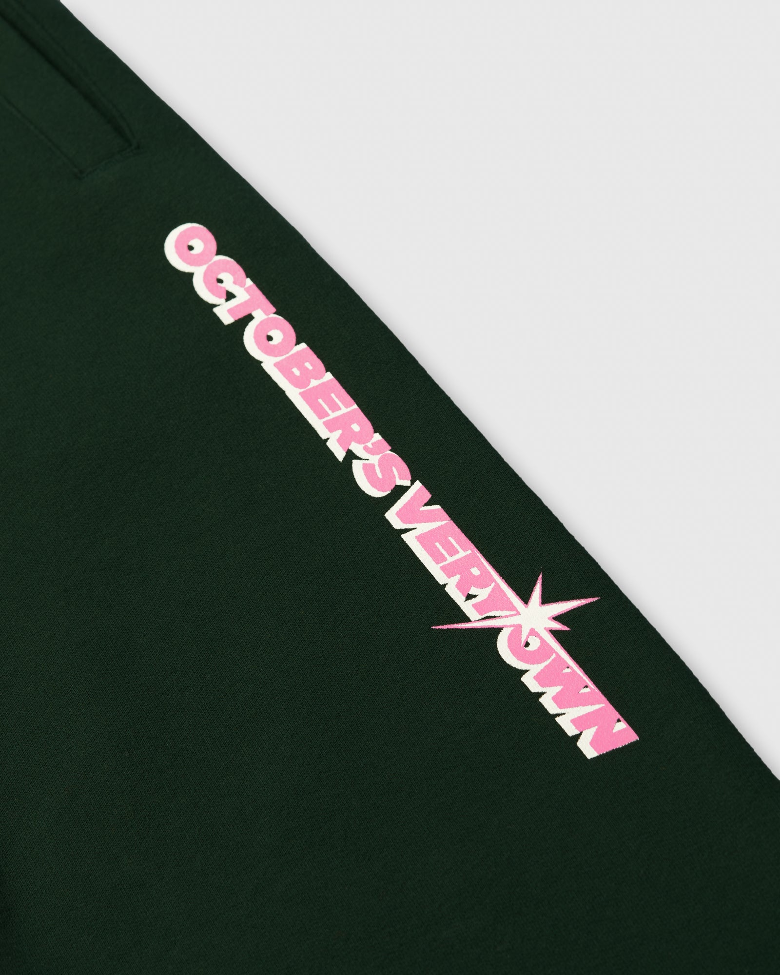 SHINING WORDMARK SWEATPANT - PINE IMAGE #2