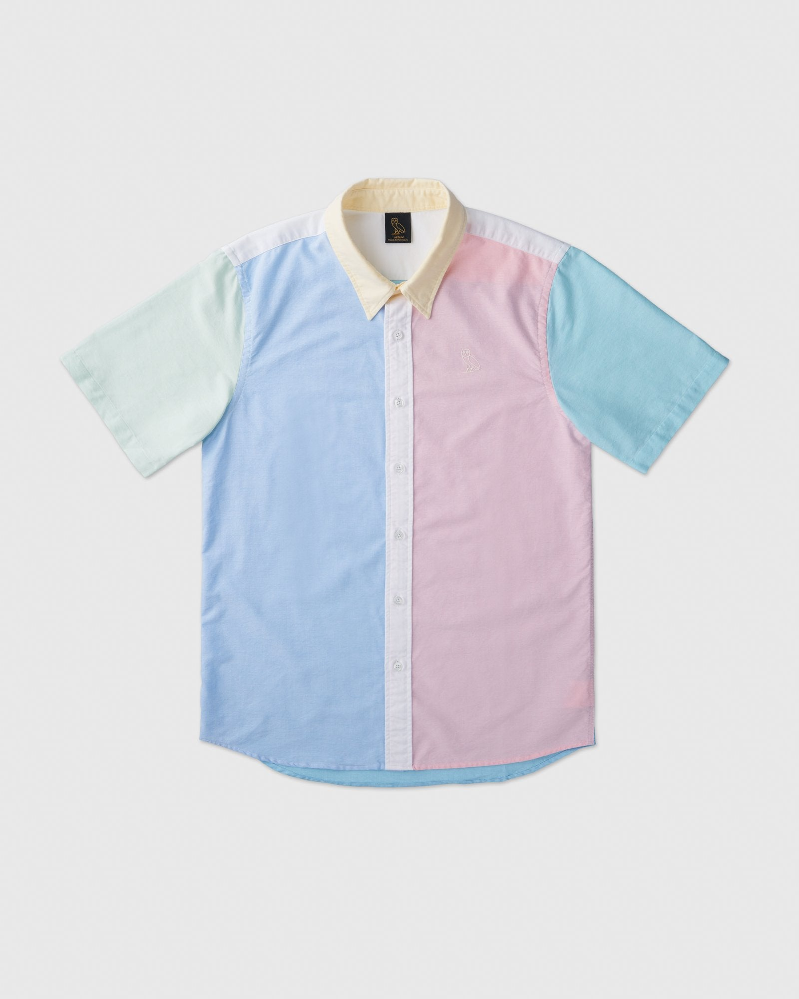 SHORT SLEEVE OXFORD SHIRT - MULTI IMAGE #1