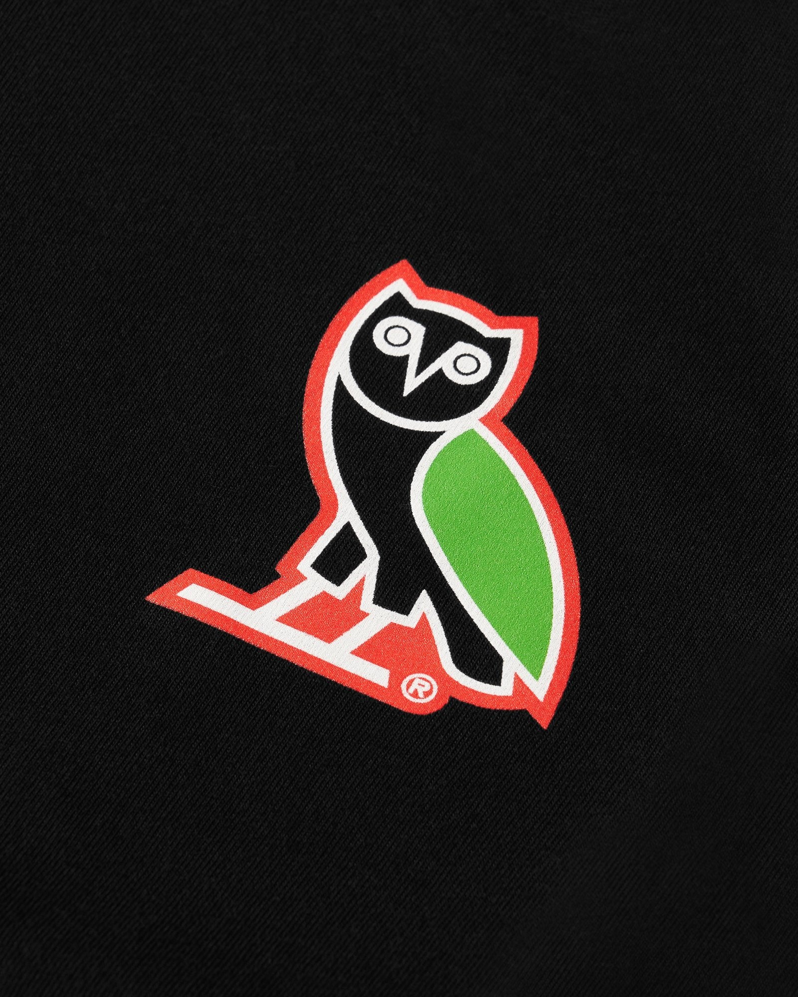 TEAM OWL ATHLETICS T-SHIRT - BLACK IMAGE #2