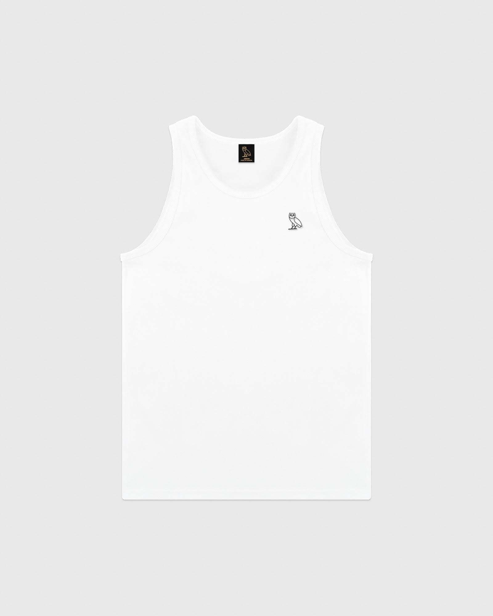 ESSENTIAL OWL TANK TOP - WHITE IMAGE #1