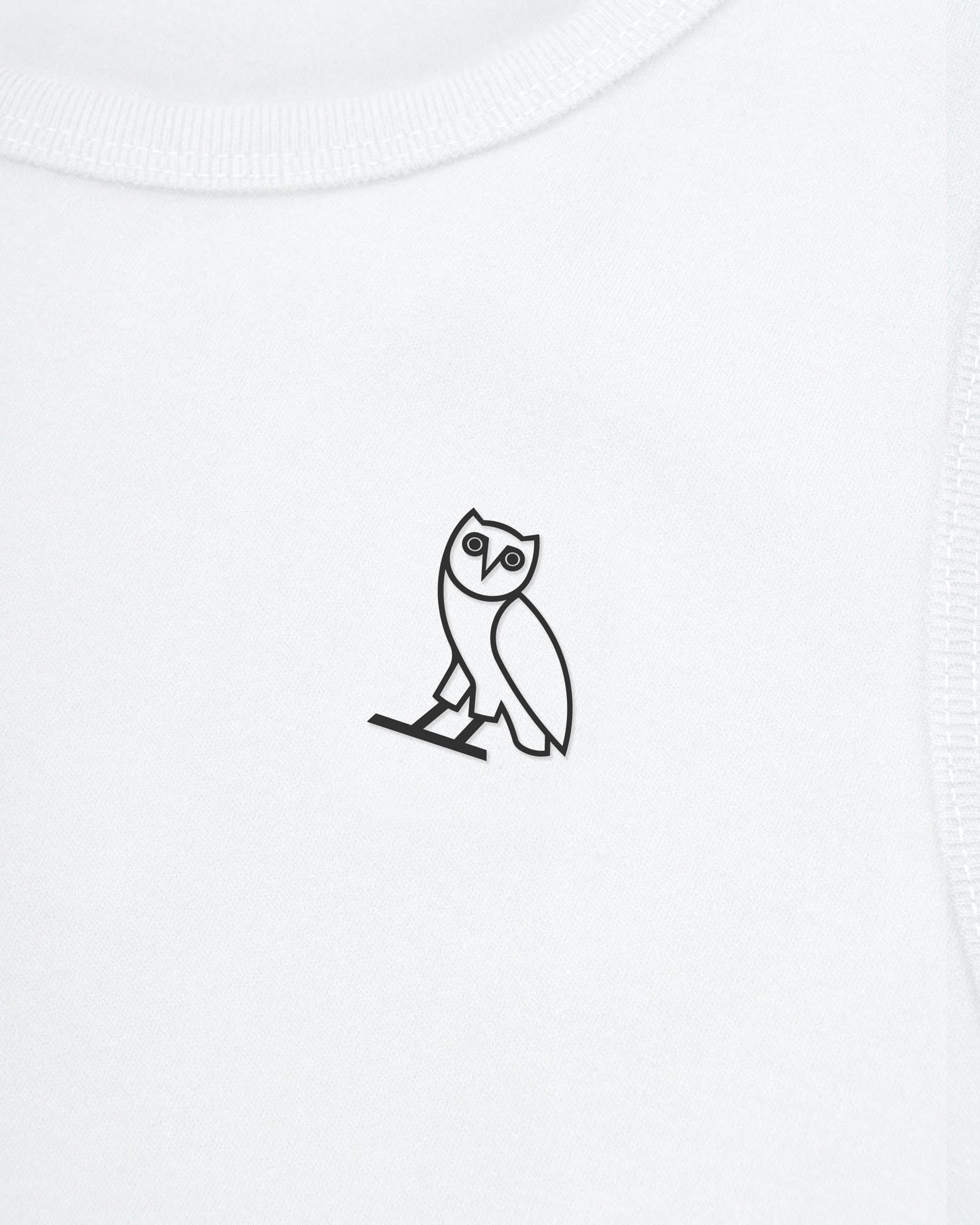 ESSENTIAL OWL TANK TOP - WHITE IMAGE #3