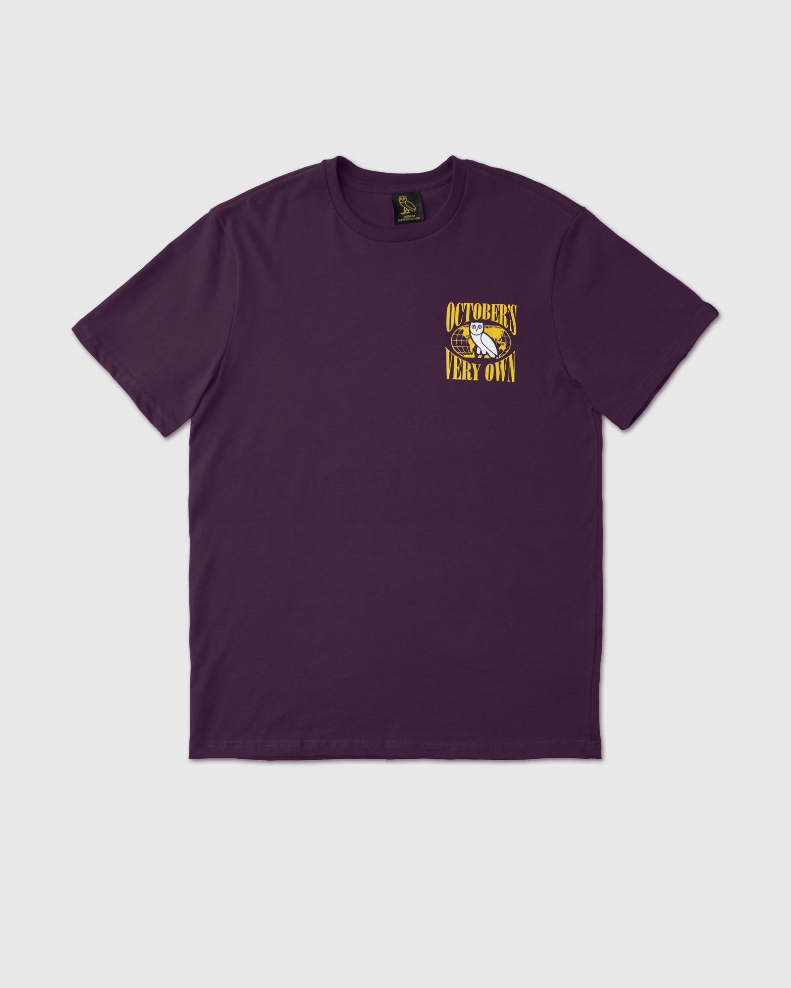 WORLD TOUR T-SHIRT - DARK PURPLE IMAGE #1