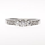 14K Anniversary Diamond Ring