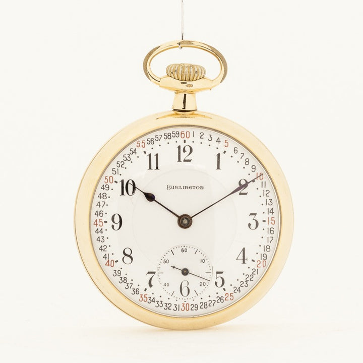 Burlington Pocket Watch