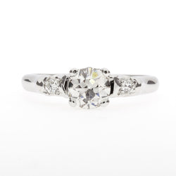 14K 1920's Engagement Diamond Ring
