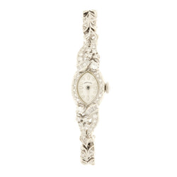 14K Diamond Hamilton Wristwatch