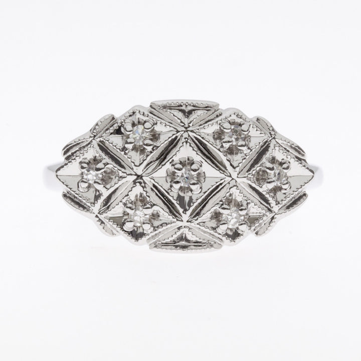 1950's 14K Diamond Ring