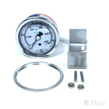 Oil Pressure Gauge; 0-5000 psi; Back Mount