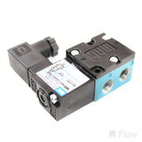 Solenoid Valve; 4 Port; 4 Position; 24 VDC