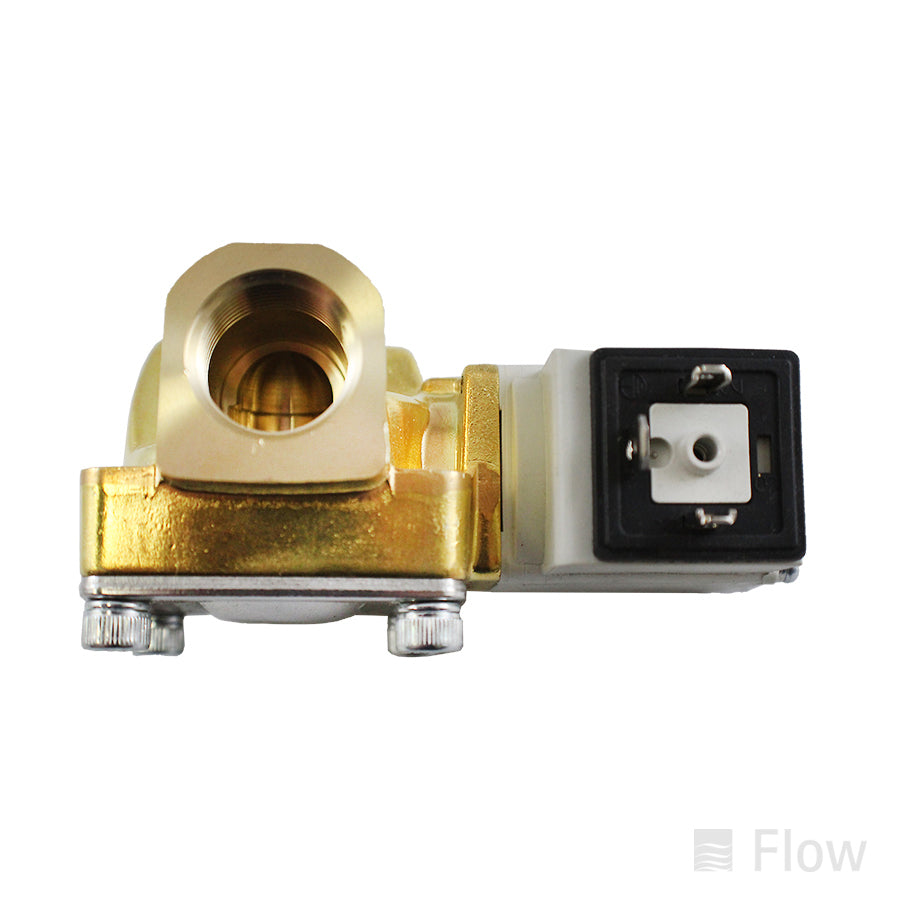 Solenoid Valve; Normally Closed; 2 Port; 2 Position; 24 VDC