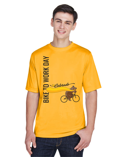 Athletic Gold Performance Tee - Men's