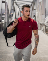 ENZO - Burgundy T-Shirt