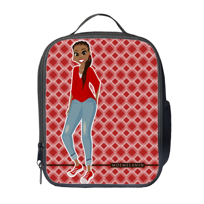 Radiant In Red Lunch Bag