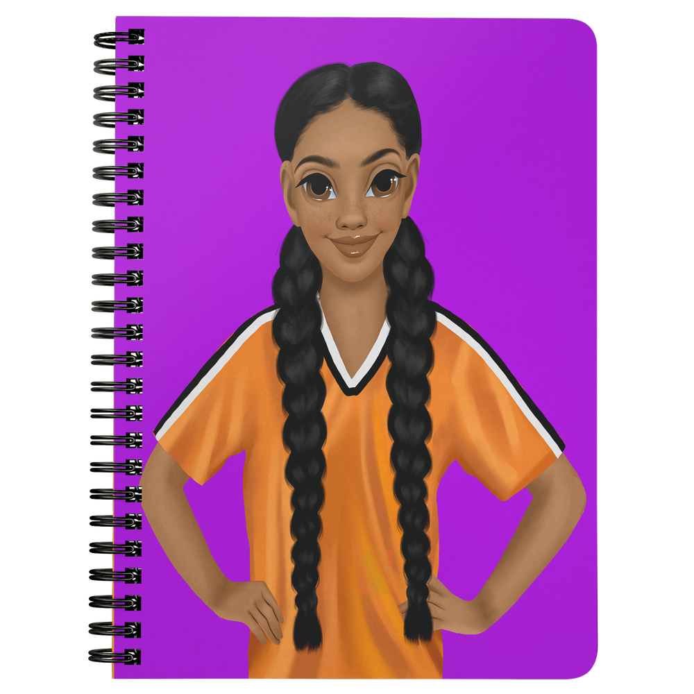 Sport Girl Mini Notebook