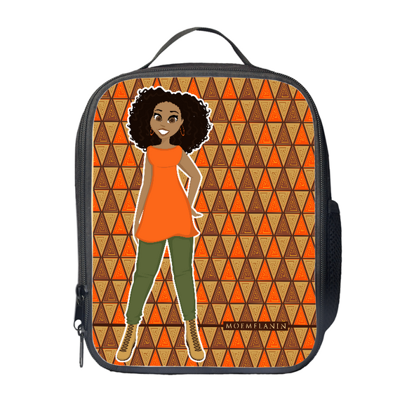 Outstanding In Orange Lunch Bag