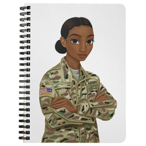 Army Female Mini Notebook