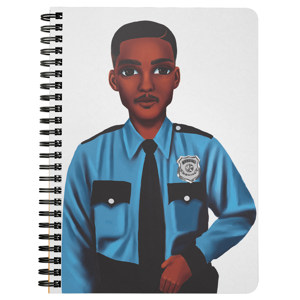 Policeman Mini Notebook