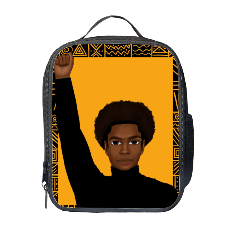 Unapologetically Black (Male) Lunch Bag