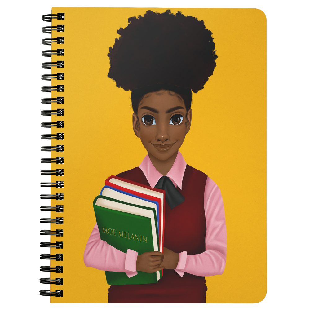 Melanated Excellence Female Mini Notebook