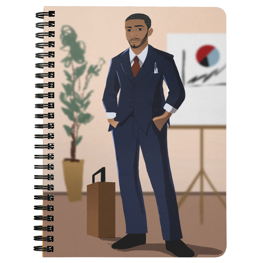 Businessman Mini Notebook