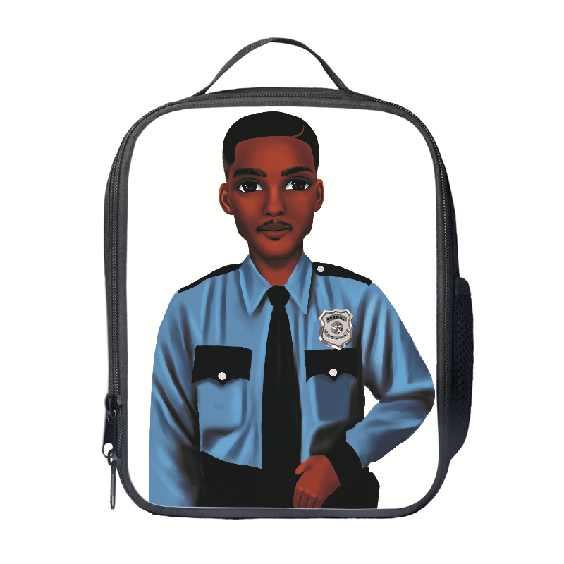 Policeman Lunch Bag