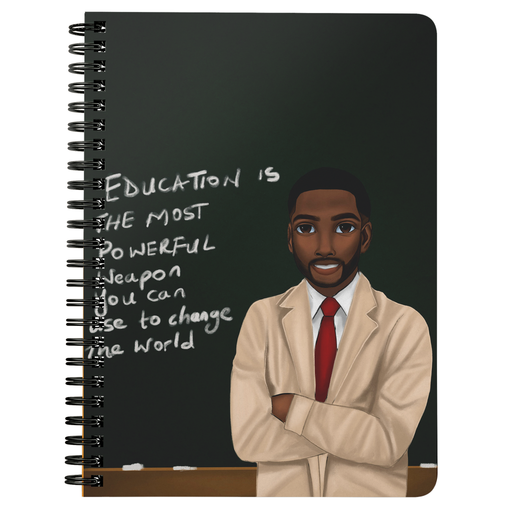 Teacher Male Mini Notebook