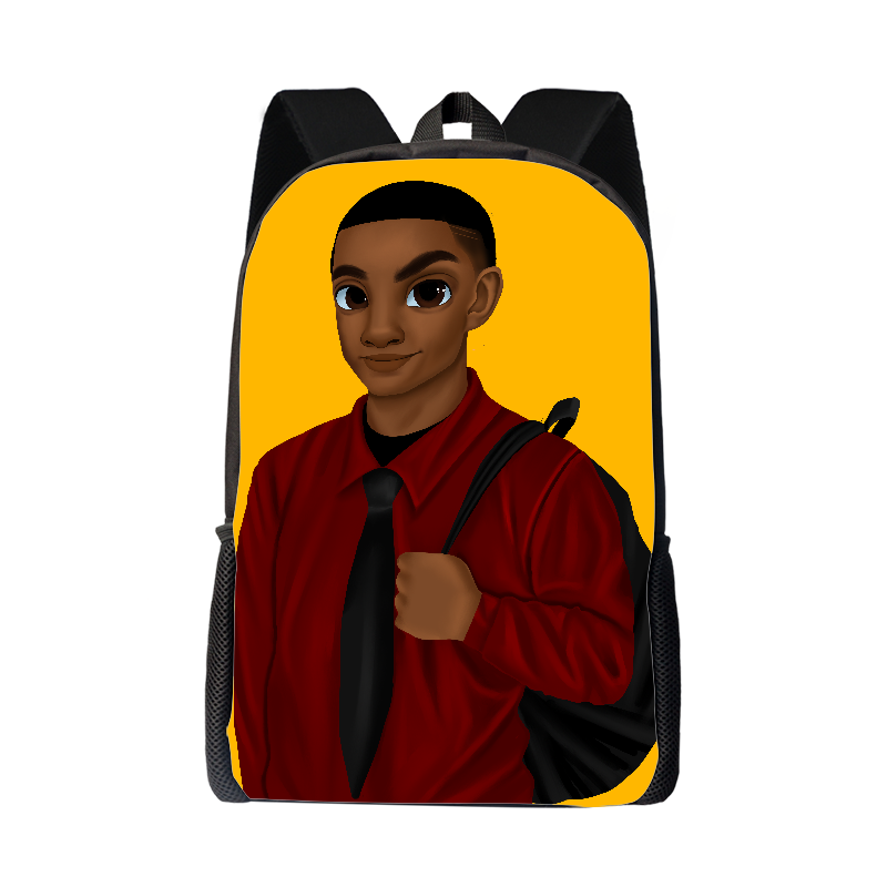 Melanated Excellence Backpack - Boy