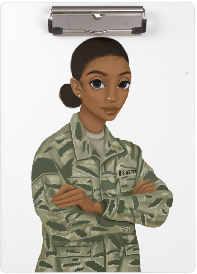 Air Force Female Clipboard