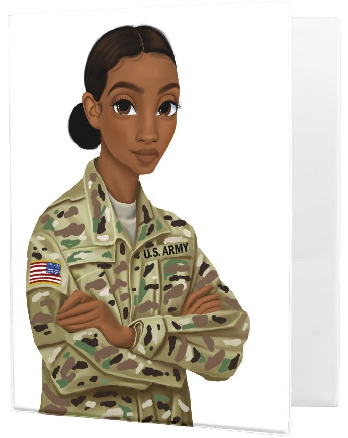 Army Female Binder