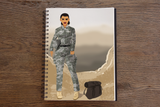 Army Female Notebook