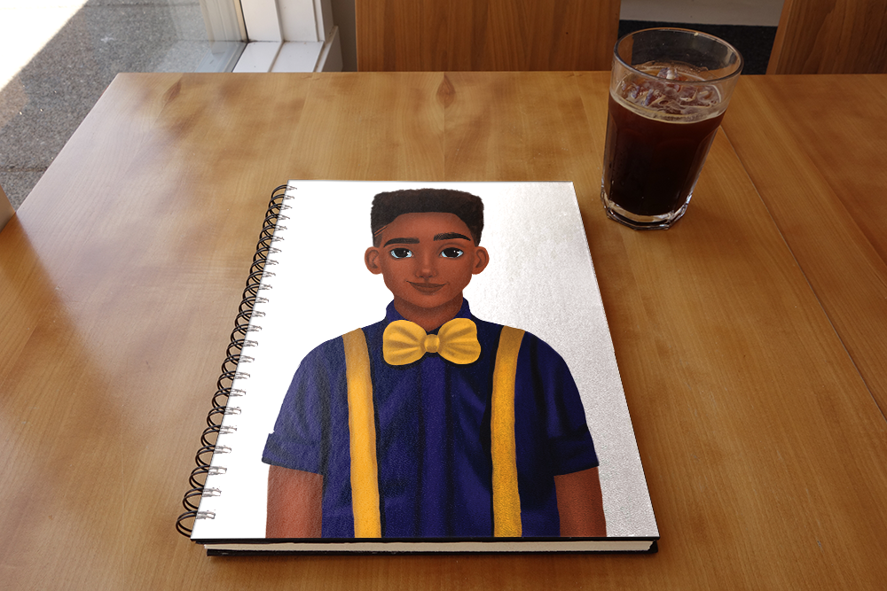 Bow Tie - Brandon Notebook
