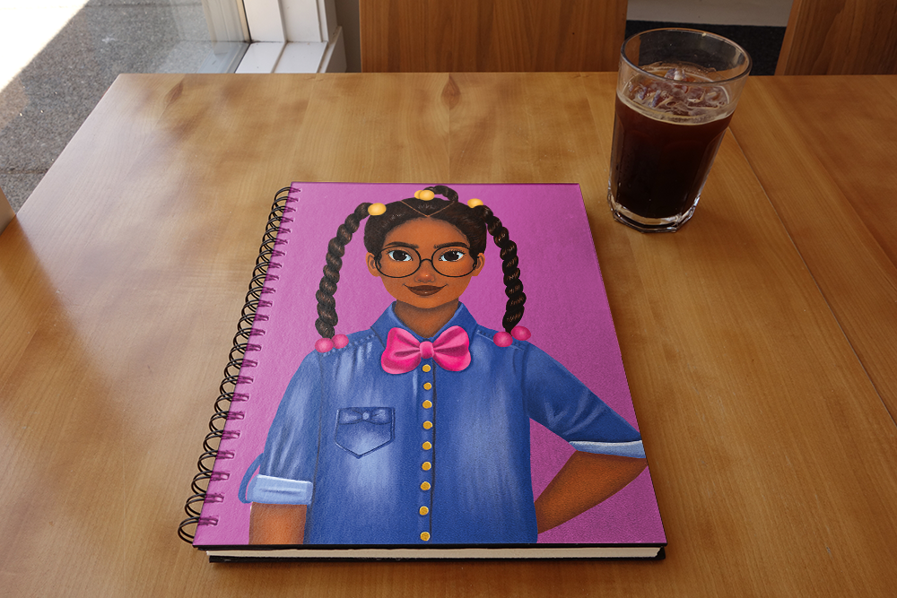 Bow Tie - Breanna Notebook