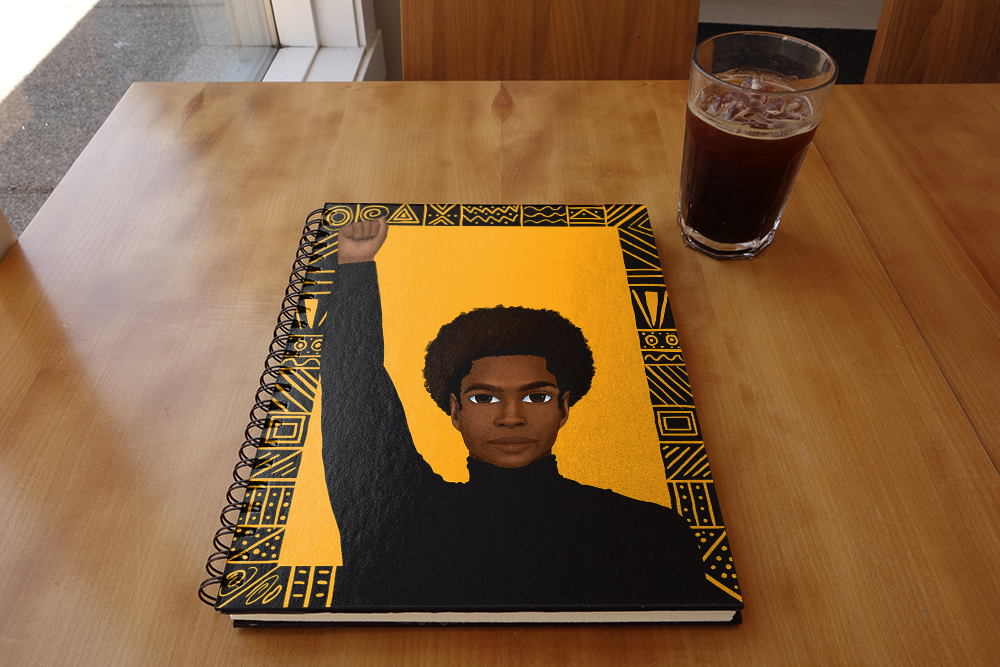 Unapologetically Black Male Notebook