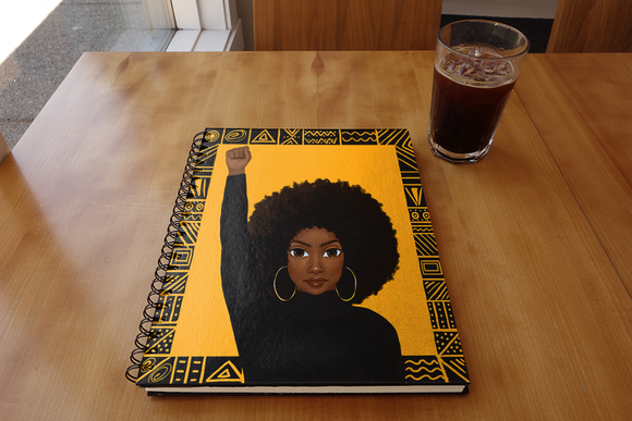 Unapologetically Black - Female Notebook
