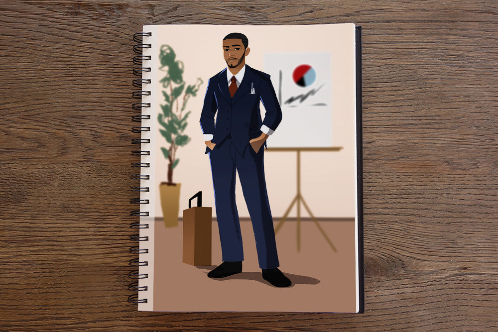 Businessman Sketchbook