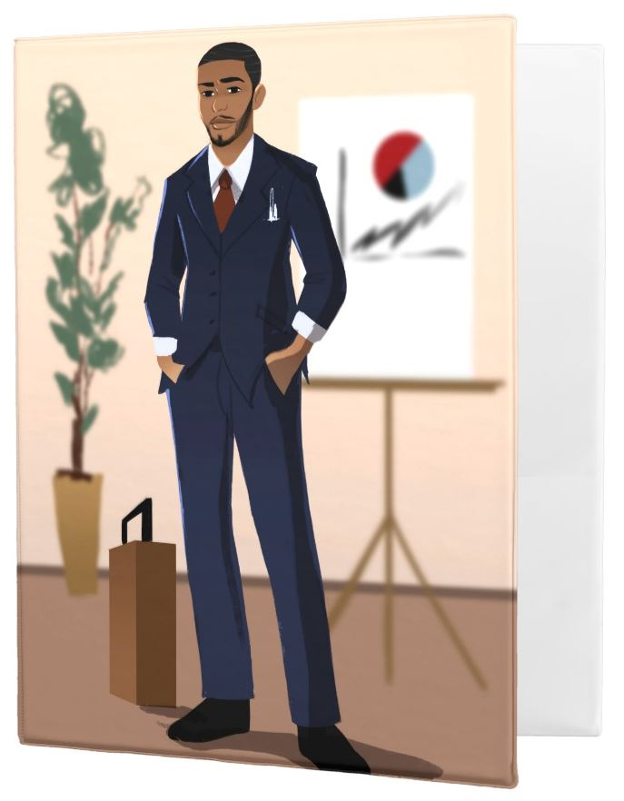 Businessman Binder