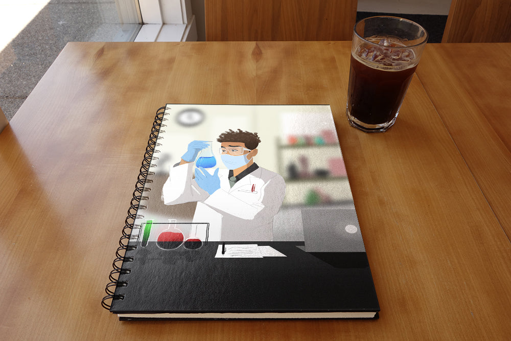 Scientist Male Notebook
