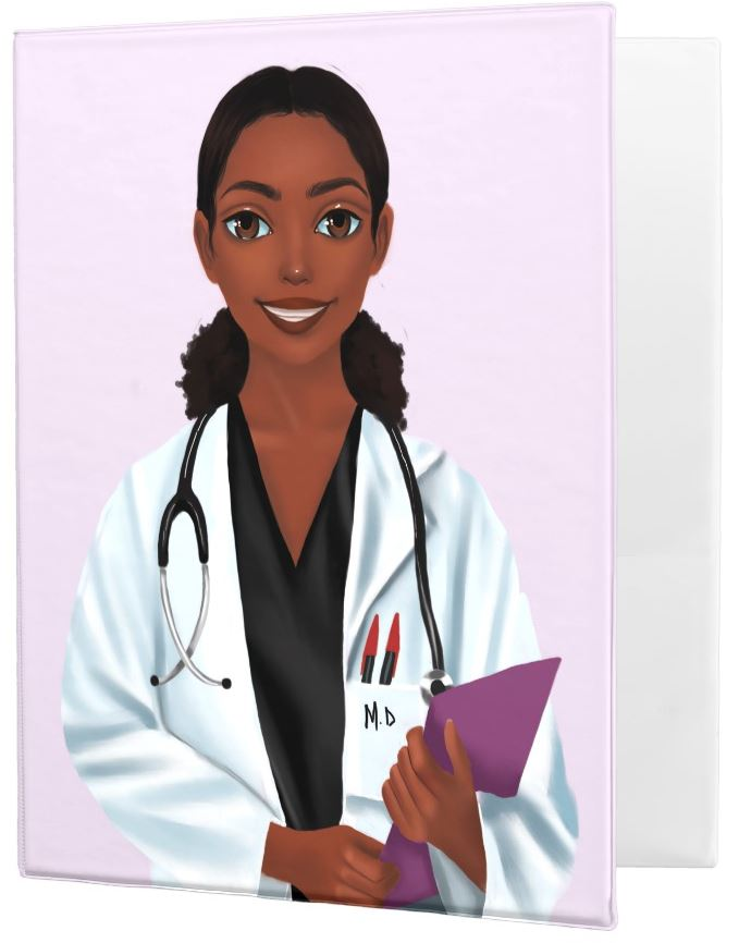 Doctor Female Binder