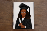 Graduation (Female) Notebook