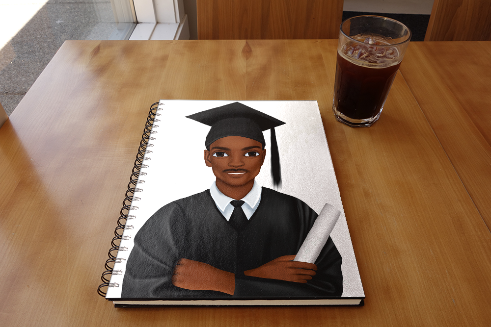 Graduation Male Notebook