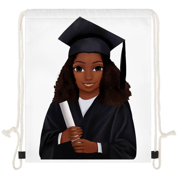 Graduate (Female) Drawstring Bag
