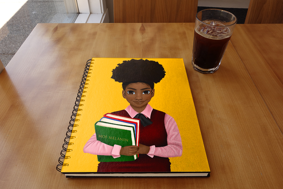 Melanated Excellence Notebook- Girl