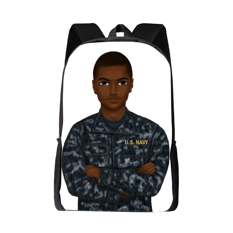 Navy Male Backpack