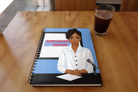 News Reporter Notebook
