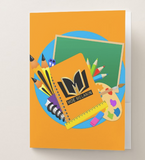 Melanated Excellence Male Pocket Folder